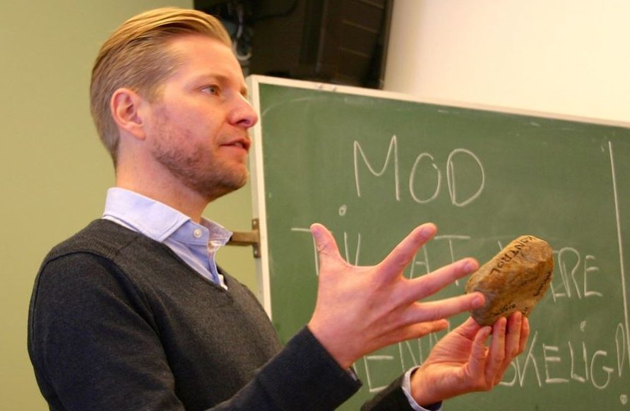 Foredrag om mod - Nicolai Sommer