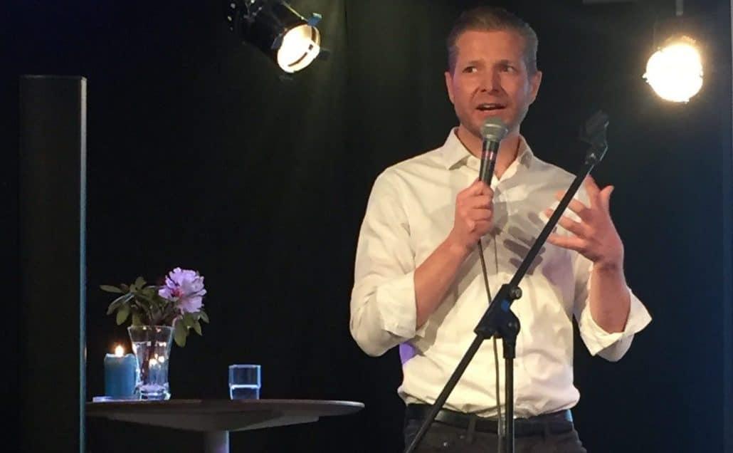 Foredrag, Nicolai Sommer